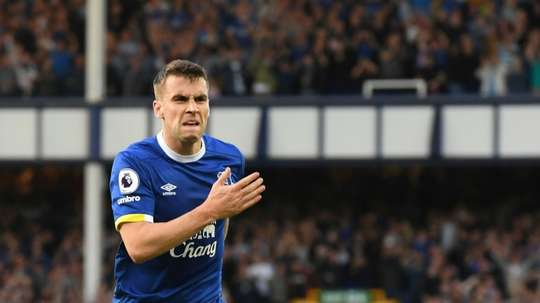 Seamus Coleman was delighted with his team's win over Southampton. AFP