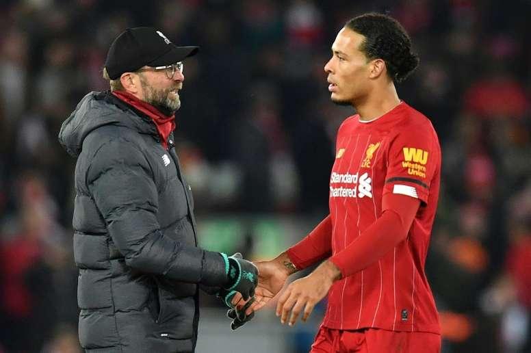 Liverpool won 2-1. AFP