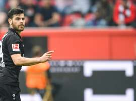 Kevin Vollard's brace helped Leverkusen move up to tenth. AFP