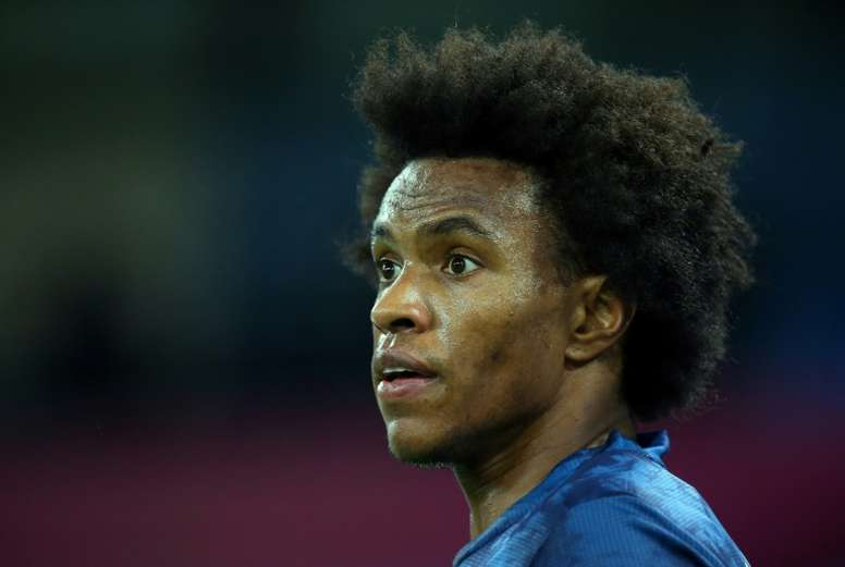 Willian travelled to Dubai during the international break without the clubs permission. AFP