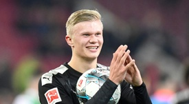 Favre tries to play down Haaland hype after dream Dortmund debut. AFP