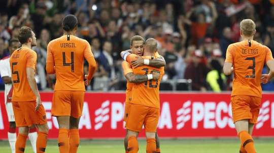 The Dutch will look to improve on their loss in the last match against France. AFP