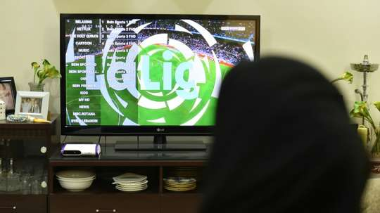 Saudi Arabia has permanently revokeed the licence of Qatar's beIN. AFP