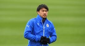 Okazaki, decisivo para Japón. AFP