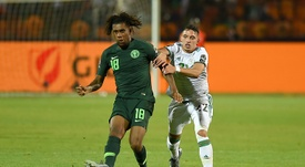 Nigeria were 4-0 up v Sierra Leone and did not win the game. AFP