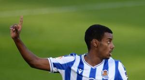 Real Sociedad won 1-0. AFP