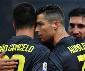 Ronaldo stepped up for Juventus in their time of need. GOAL