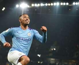 Gabriel Jesus é alvo do interesse do Manchester City. AFP