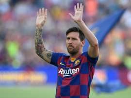 Lionel Messi could be in the Barcelona squad to face Real Betis in La Liga on Sunday