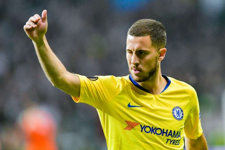 Hazard va rejoindre le Real Madrid. AFP