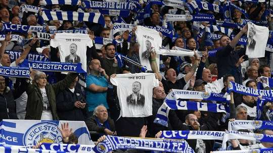 Leicester City are to pay an emotional tribute to their late owner on Saturday. AFP