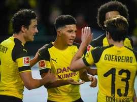 Dortmund beat 'Gladbach to become 'autumn champions'
