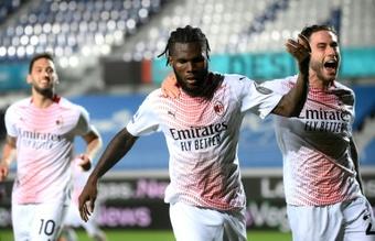 Kessié recusa os seis milhões de euros oferecidos pelo Milan. AFP