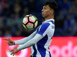 O médio espanhol tem tido um papel de destaque no FC Porto de Sérgio Conceição. AFP