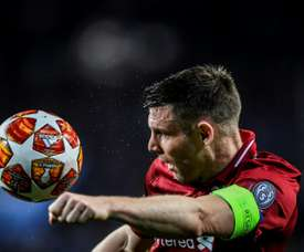 Milner contou que Messi lhe chamou burro. AFP