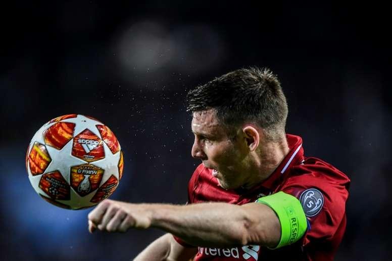 James Milner podría regresar al Leeds United. AFP