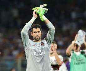 El jugador del Milán Diego López cumple 34. AFP