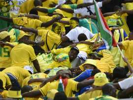 Coach-less South Africa stretched an unbeaten record to 14 matches drawing 1-1 to Mozambique. AFP