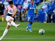 Wu Lei will stay at Espanyol. AFP