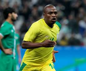 Bidvest Wits forward Gift Motupa scored for South Africa at the 2016 Rio Olympic Games. AFP