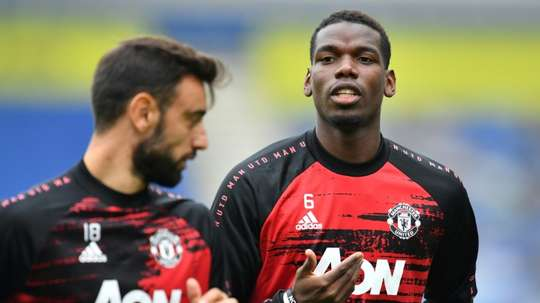 Pogba incertain contre Basaksehir. afp