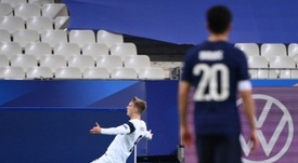 Marcus Forss, alegría de Finlandia. AFP