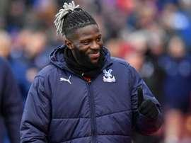Batshuayi is having game time at Chelsea. AFP