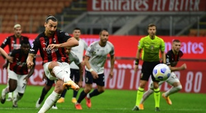 Ibrahimovic brace gives AC Milan winning start. AFP