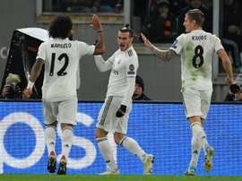 Bale volvió a ser letal en Champions. AFP
