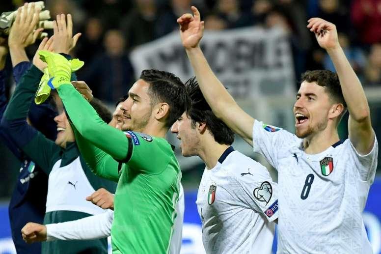 Italia, favorita en el Grupo A. AFP/Archivo