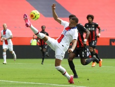 Kylian Mbappe was on target as PSG easily beat Nice 0-3. AFP