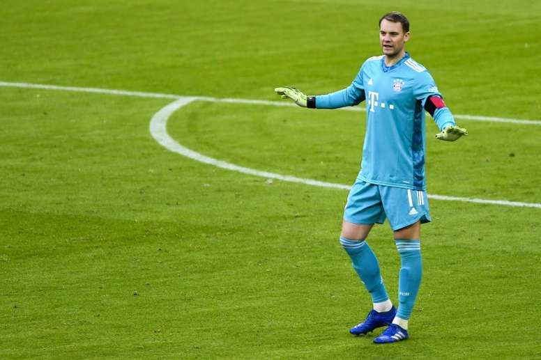Manuel Neuer pulled off superb saves as Bayern Munich were held to a 1-1 draw. AFP