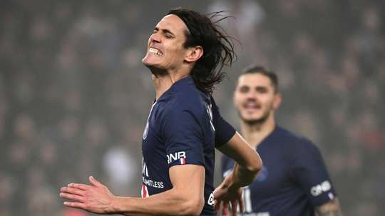 Edinson Cavani proposé au Real Madrid. AFP