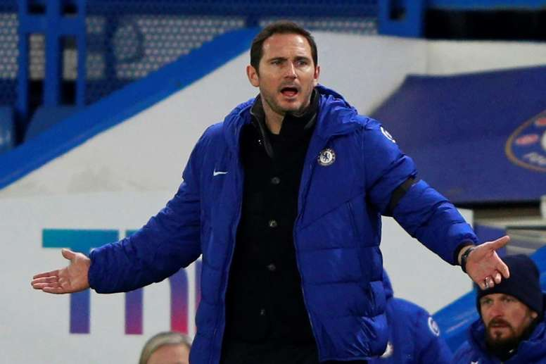 Chelsea manager Frank Lampard granted the players wish. AFP