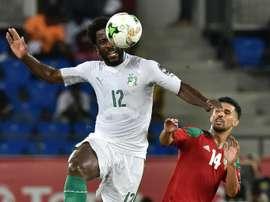 Les compos probables du match de la CAN entre la Côte d'Ivoire et l'Afrique du Sud. AFP