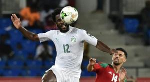 La Ligue 2 pour permettre à Wilfried Bony de rebondir ? AFP