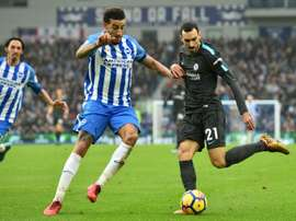Ex-Brighton defender Goldson has committed his future to Rangers. AFP