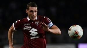 Le formazioni ufficiali di Torino-Genoa. AFP