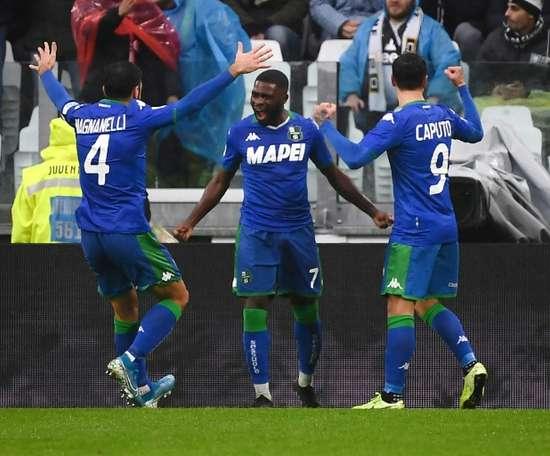 Jérémie Boga, dans le viseur de la Juventus Turin. AFP