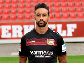 Karem Bellarabi made Bundesliga history when he scored the league's 50,000th goal. AFP