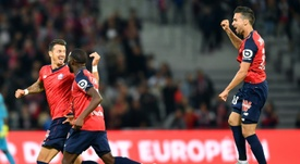 Jose Fonte opened the scoring for Lille. AFP