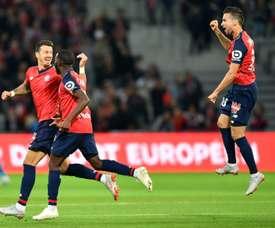 El Lille se impuso al Nantes. AFP/Archivo