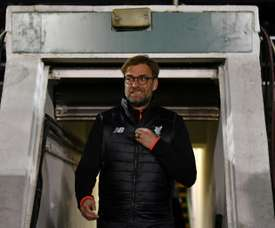 Klopp leaving the tunnel. AFP
