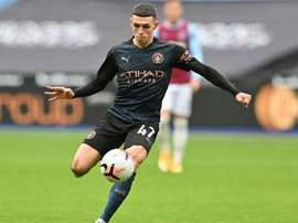 Phil Foden got Man City a draw at West Ham. AFP