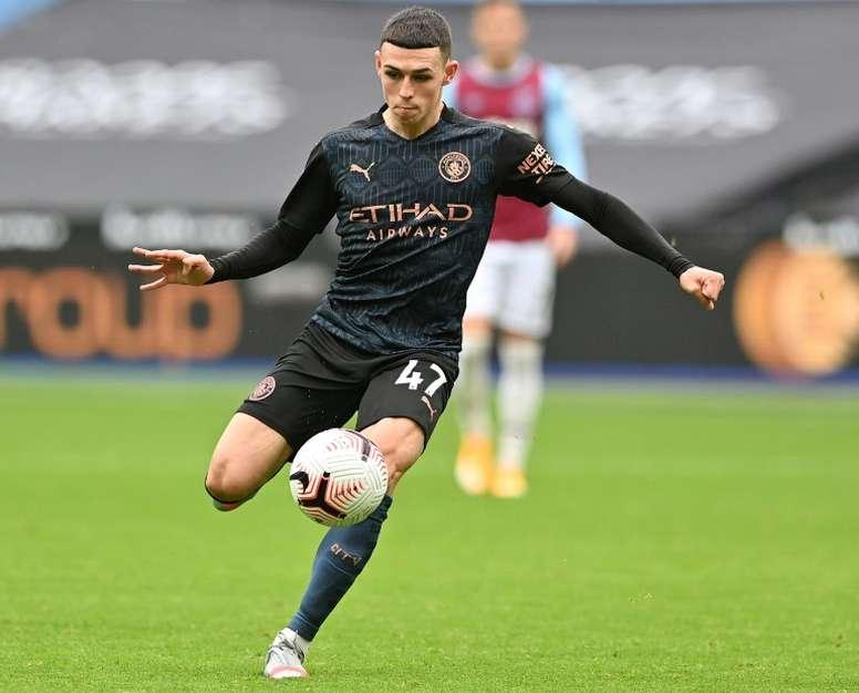 Phil Foden got Man City a draw at West Ham. AFP