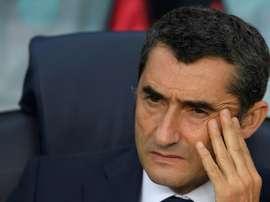 Valverde piensa en varias alternativas para el puesto de central. AFP