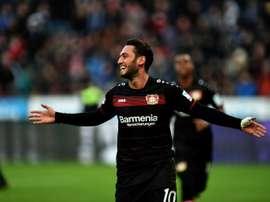 Internacional turco será reforço dos 'rossoneri'. AFP