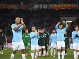 Manchester City reçoit Bale. AFP