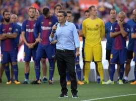 Valverde a les idées claires. AFP