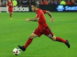 Giovinco destacó en la goleada de Toronto. AFP